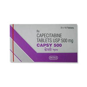 Capsy Capecitabine 500mg Tablet