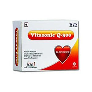 Vitasonic Q-300 Coenzyme Q10 Capsule