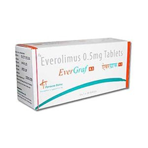 Evergraf Everolimus 0.5mg Tablet