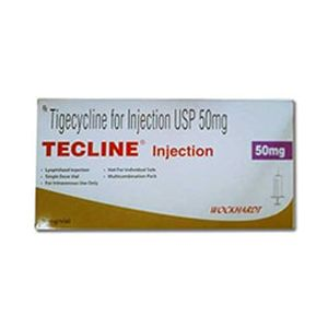 Tecline Tigecycline 50mg Injection