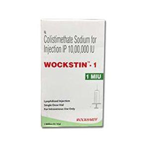 Wockstin Colistimethate 1 MIU Injection