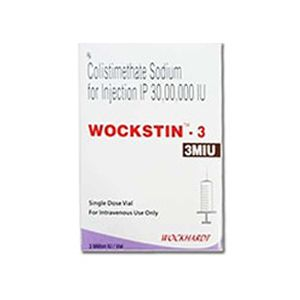 Wockstin Colistimethate 3 MIU Injection