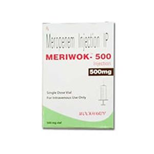 Meriwok Meropenem 500mg Injection