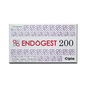 Endogest Progesterone 200mg Capsule