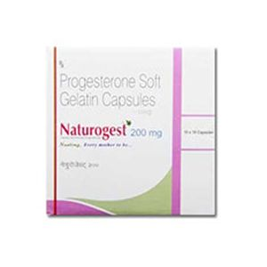 Naturogest Progesterone 200mg Capsule