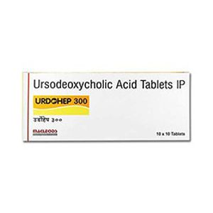 Urdohep Ursodeoxycholic 300mg Tablet