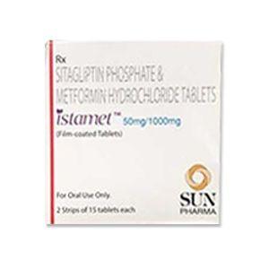 Istamet 50/1000 Sitagliptin & Metformin Tablet