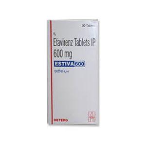 Estiva Efavirenz 600mg Tablet