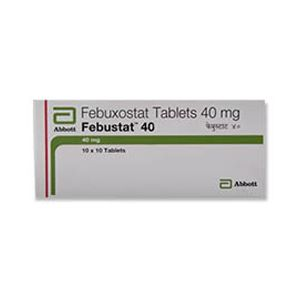 Febustat Febuxostat 40mg Tablet