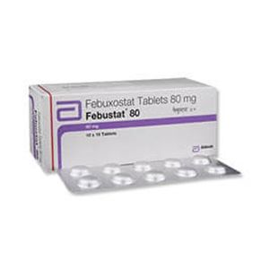 Febustat Febuxostat 80mg Tablet