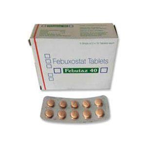 Febutaz Febuxostat 40mg Tablet