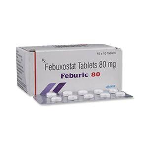 Feburic Febuxostat 80mg Tablet