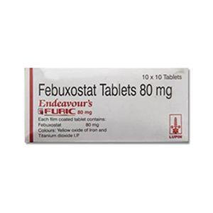 Furic Febuxostat 80mg Tablet