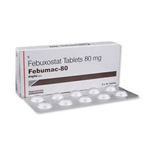 Febumac Febuxostat 80mg Tablet
