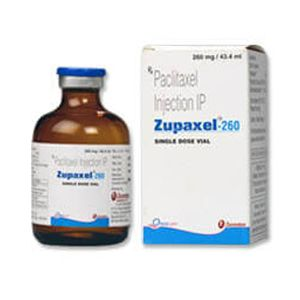 Zupaxel Paclitaxel 260mg Injection