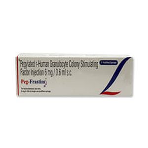 Peg-Frastim Pegylated 6mg/0.6ml Injection