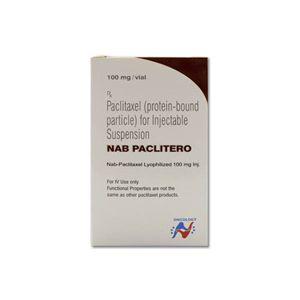 NAB Paclitero紫杉醇100mg注射剂