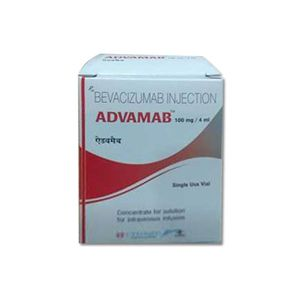 Advamab Bevacizumab 100mg Injection