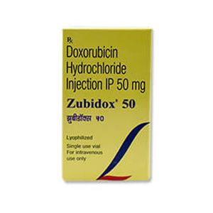Zubidox Doxorubicin 50mg Injection