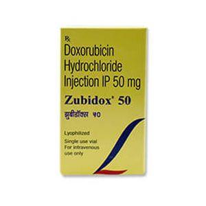Zubidox 50mg多柔比星注射液