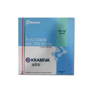 Krabeva Bevacizumab 400mg Injection