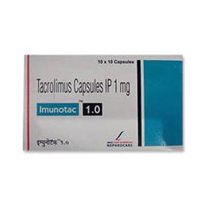 Imunotac Tacrolimus 1mg Capsule