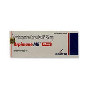 Arpimune ME Cyclosporine 25mg Capsule