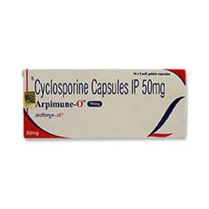 Arpimune O Cyclosporine 50mg Capsule
