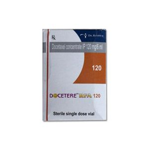 Docetere RFA Docetaxel 120mg Injection