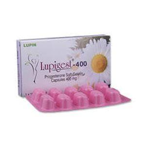 Lupigest Progesterone 400mg Capsule