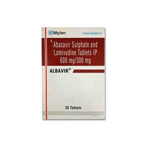 Albavir Abacavir & Lamivudine Tablet