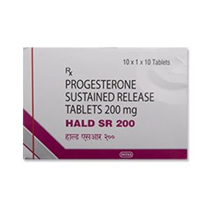 Hald SR Progesterone 200mg Tablet