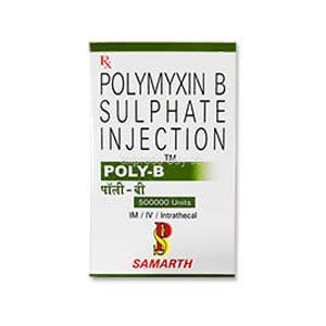 Poly-B Polymyxin B 500000 Injection