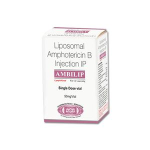 Ambilip Liposomal Amphotericin B 50mg Injection