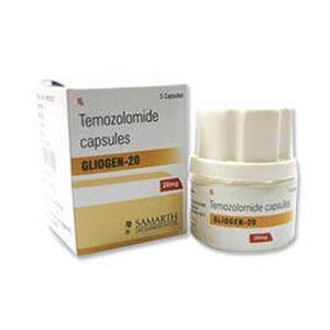 Gliogen Temozolmide 250mg Capsule