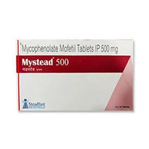 Mystead Mycophenolate Mofetil 500mg Tablet