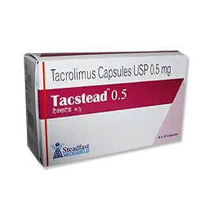 Tacstead Tacrolimus 0.5mg Capsule