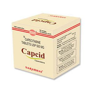 Capcid Capecitabine 500mg Tablet