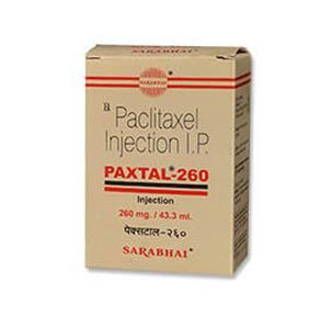 Paxtal Paclitaxel 260mg Injection