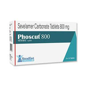 Phoscut Sevelamer 800mg Tablet