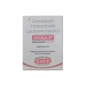 Doxulip Doxorubicin 20mg Injection