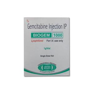Biogem Gemcitabine 1000mg Injection