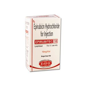 Epirubitec Epirubicin 10mg Injection