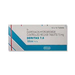 Deritas Darifenacin 7.5mg Tablet