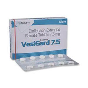 Vesigard Darifenacin 7.5mg Tablet