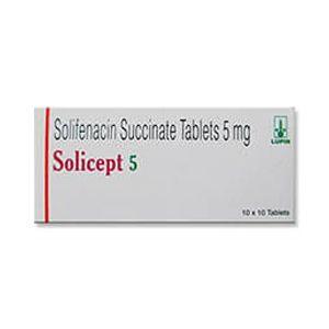Solicept Solifenacin Succinate 5mg Tablet