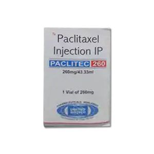 Paclitec Paclitaxel 260mg/43.4ml Injection