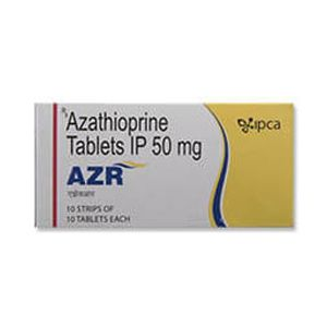AZR Azathioprine 50mg Tablet