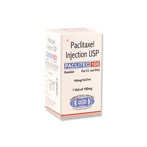 Paclitec Paclitaxel 100mg Injection