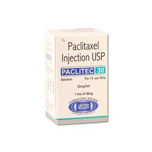 Paclitec紫杉醇30mg / 5ml注射剂